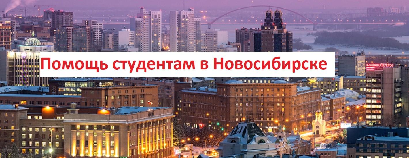 Помощь студентам в Новосибирске
